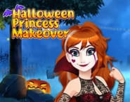Transforma??o de Halloween da Princesa