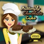 Butterfly Chocolate Cake